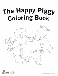 Download Coloring Book | Armenian Books for Kids